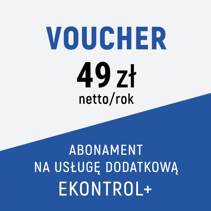 Usługa dodatkowa EKONTROL+