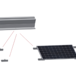 UCHWYT PV 1HB+1HR Profil Trapez 850-600